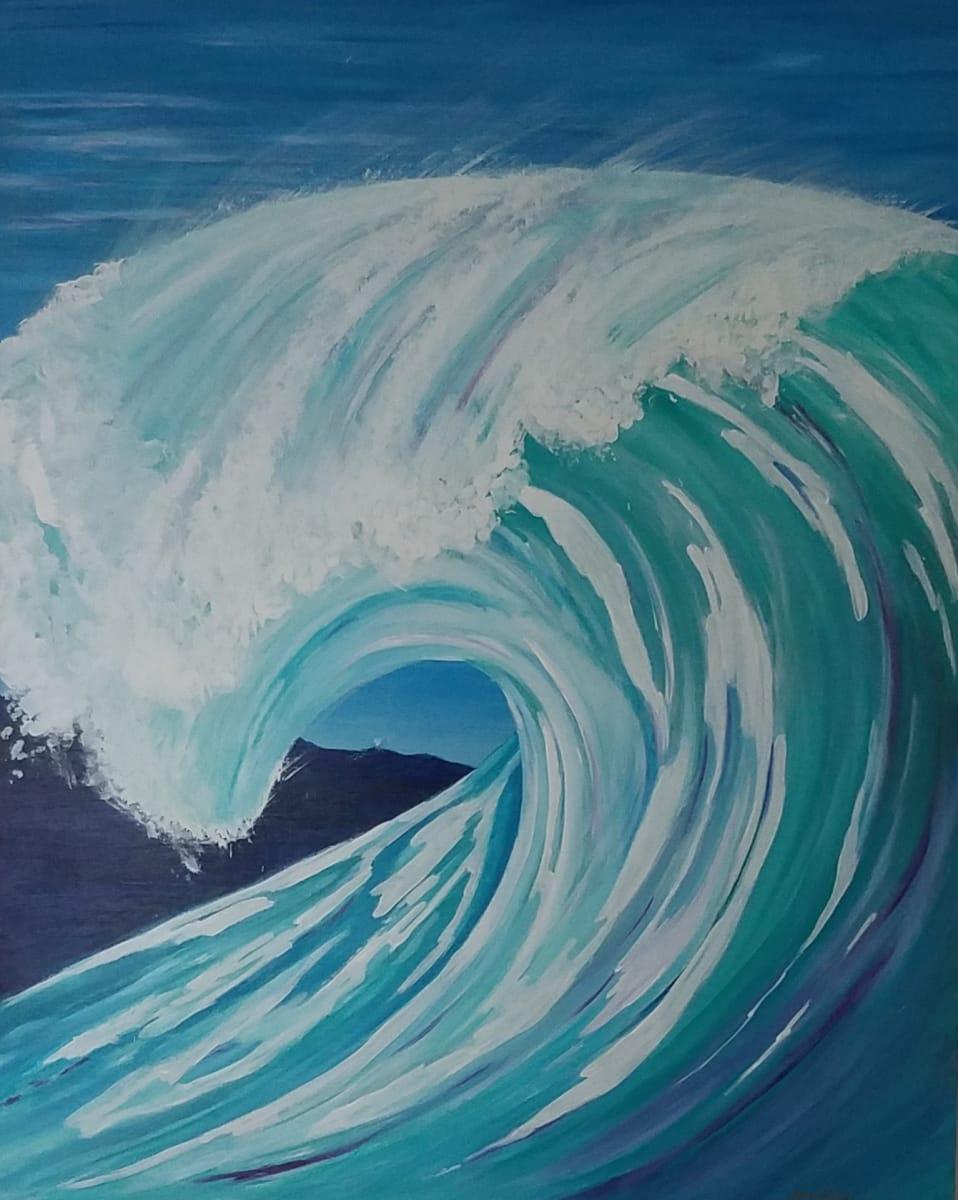 Big wave by M Shane