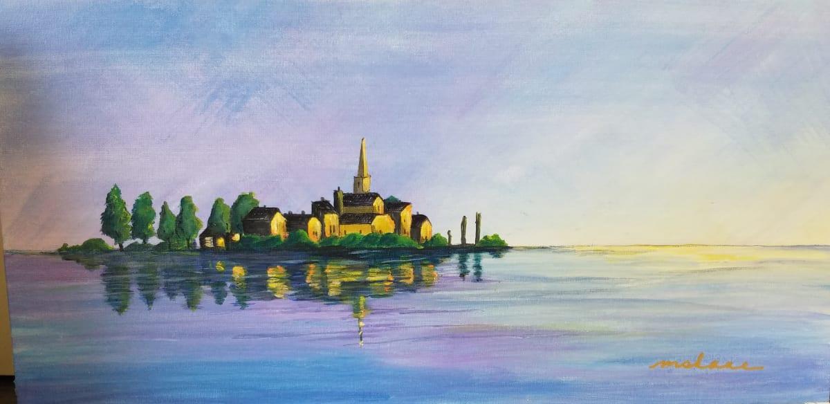 """Island Reflection"" by Artlandish Studios"
