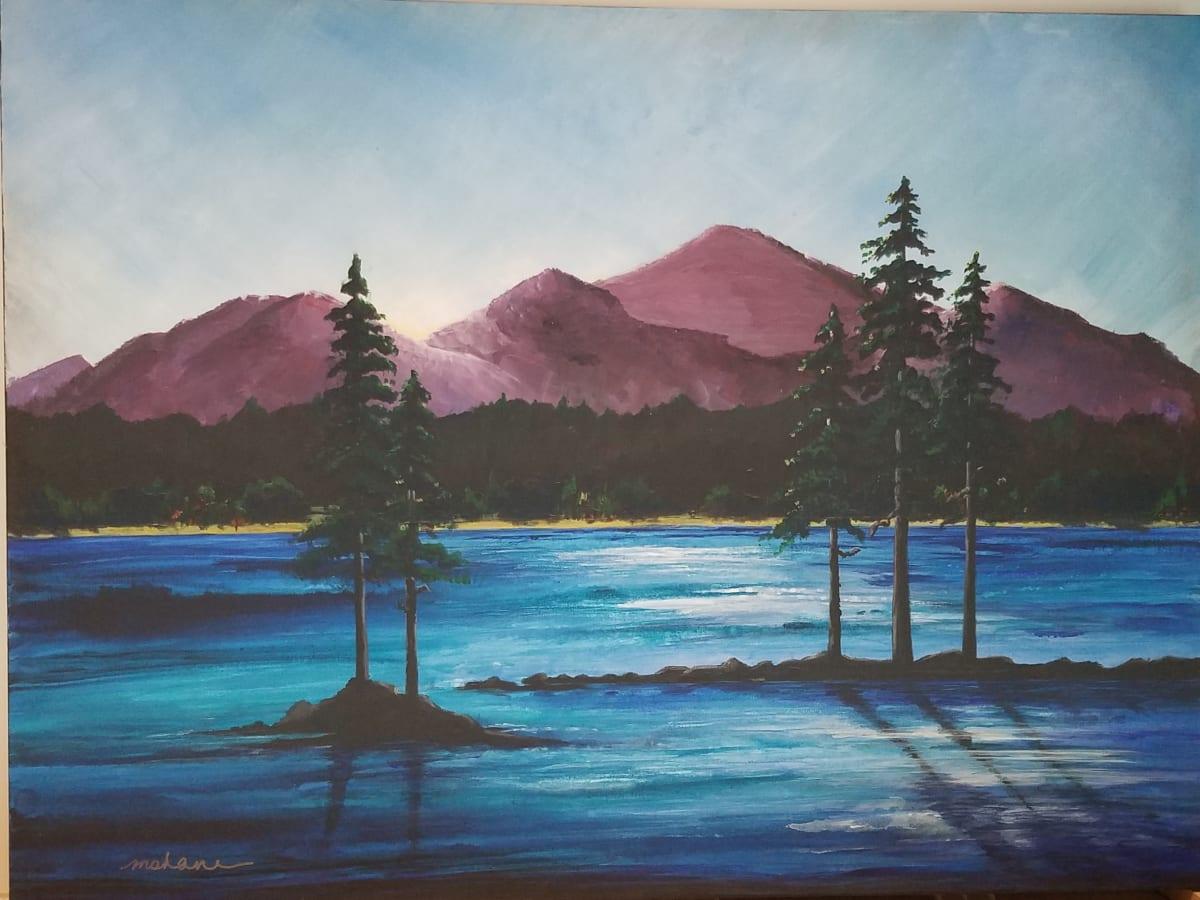 Lake Dawn by M Shane