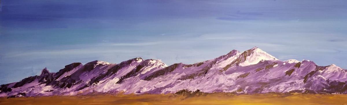 Autumn Desert Mountain by M Shane