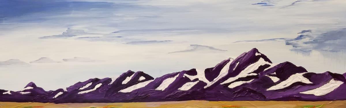 Spring Desert Mountain by M Shane