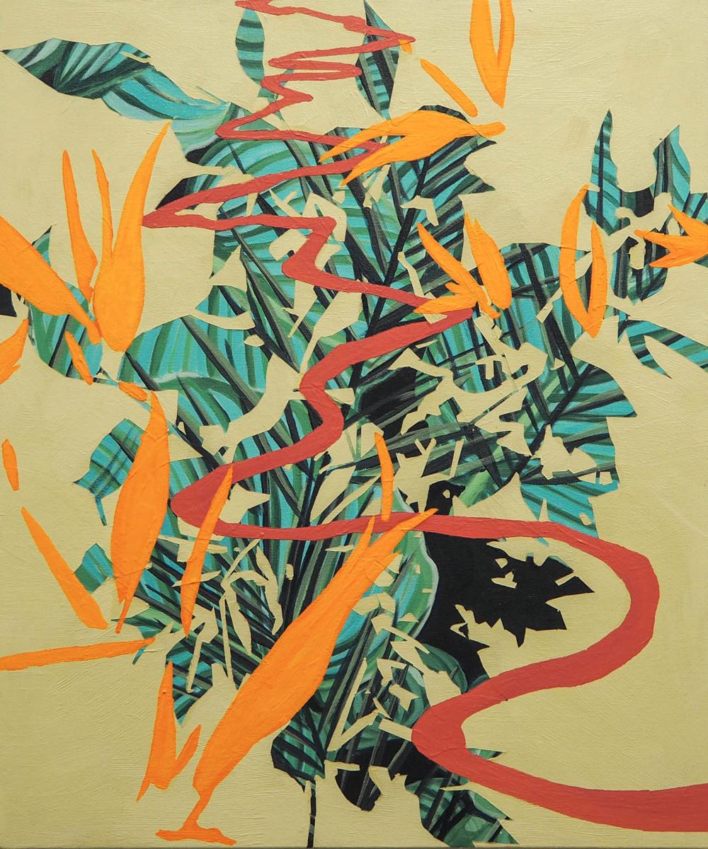 Birds of Paradise by Anne  Blenker