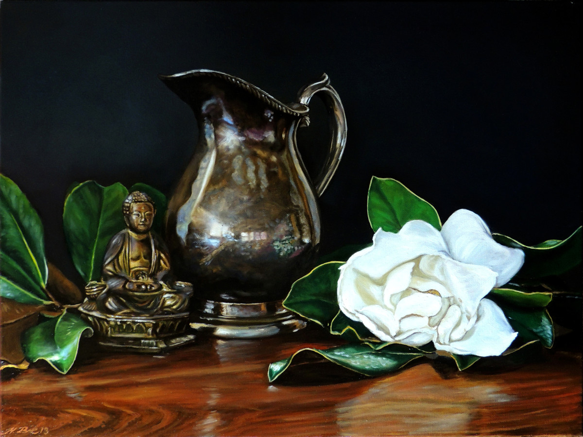 Magnolia Grandiflora IV by Herb Roe