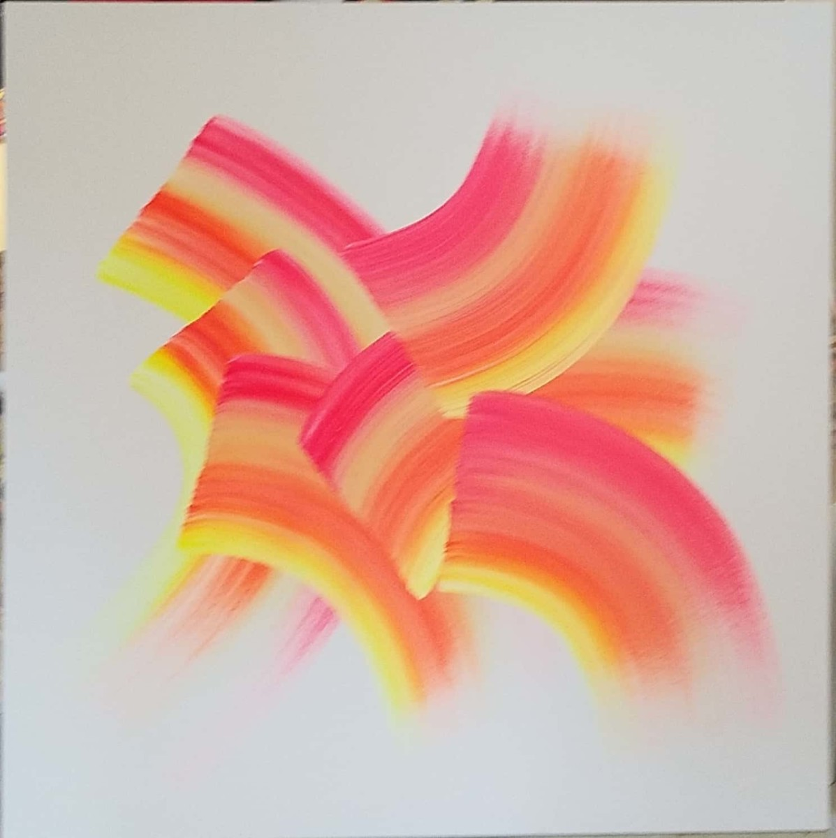 Orange Yellow Pink by Katie  Dumestre Yaquinto