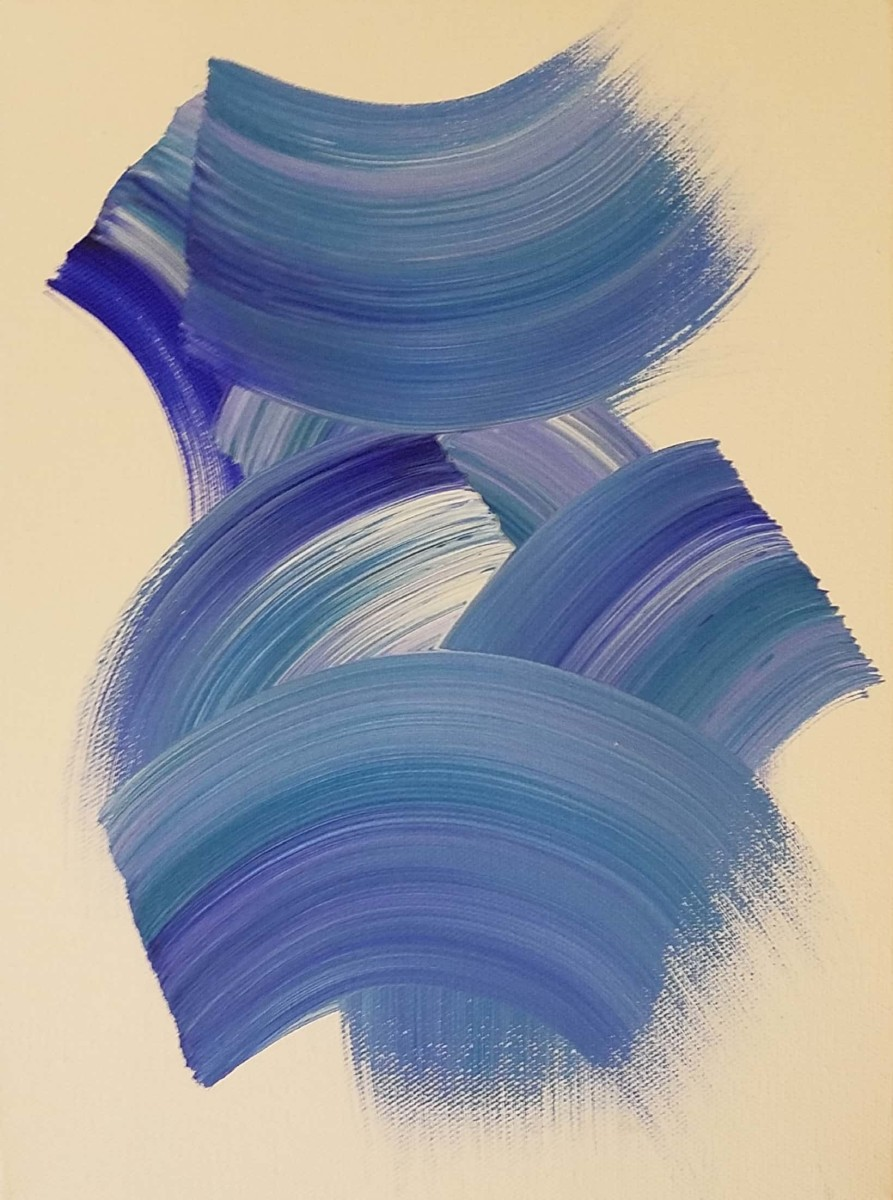 Blue by Katie  Dumestre Yaquinto