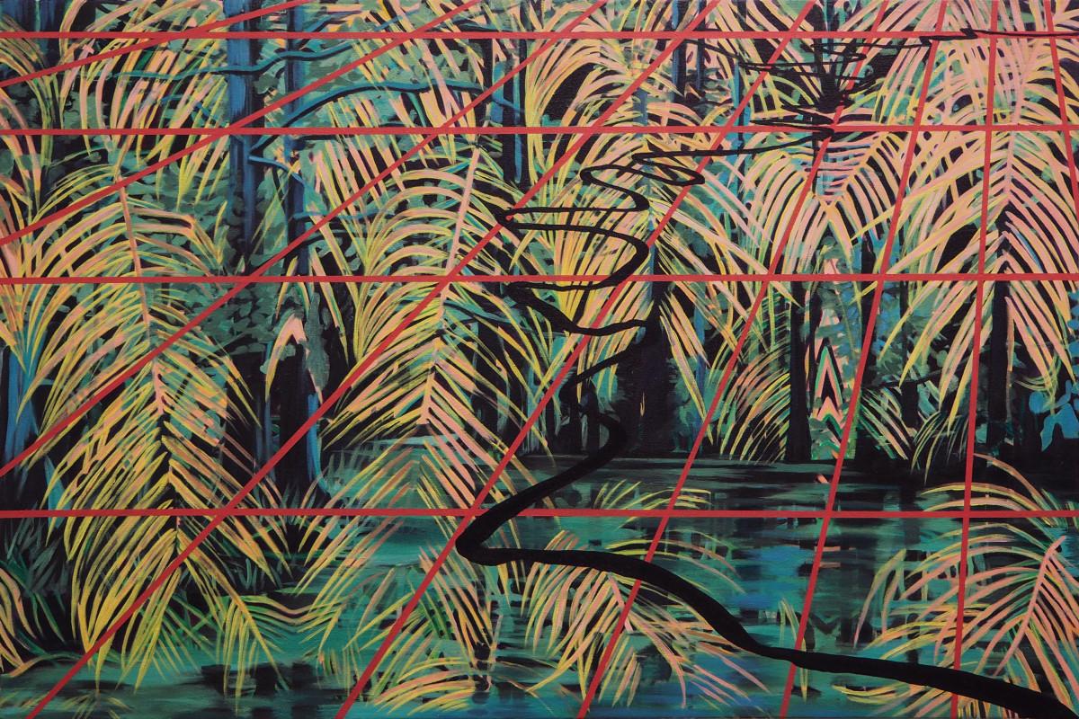 River of Palms by Anne  Blenker