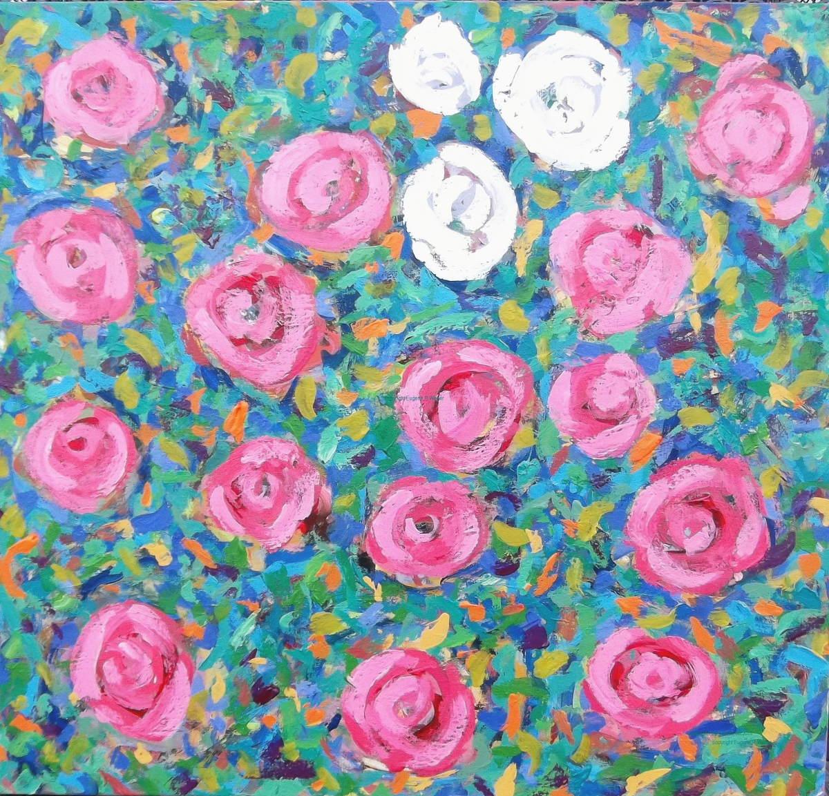 Roses  by Eugene  Weber