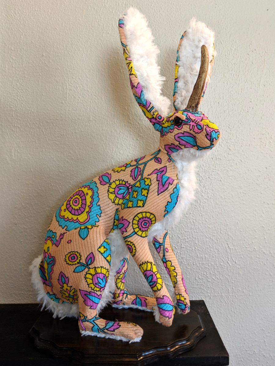 Full Mount Jackalope by Caitlin Fitzgerald