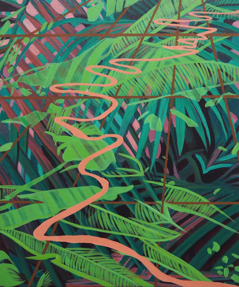 Tropical  by Anne  Blenker