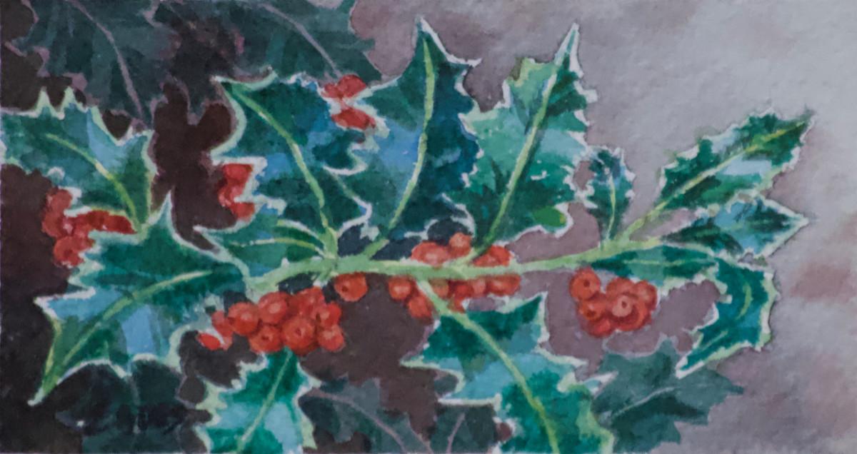 American Holly by Linda Eades Blackburn