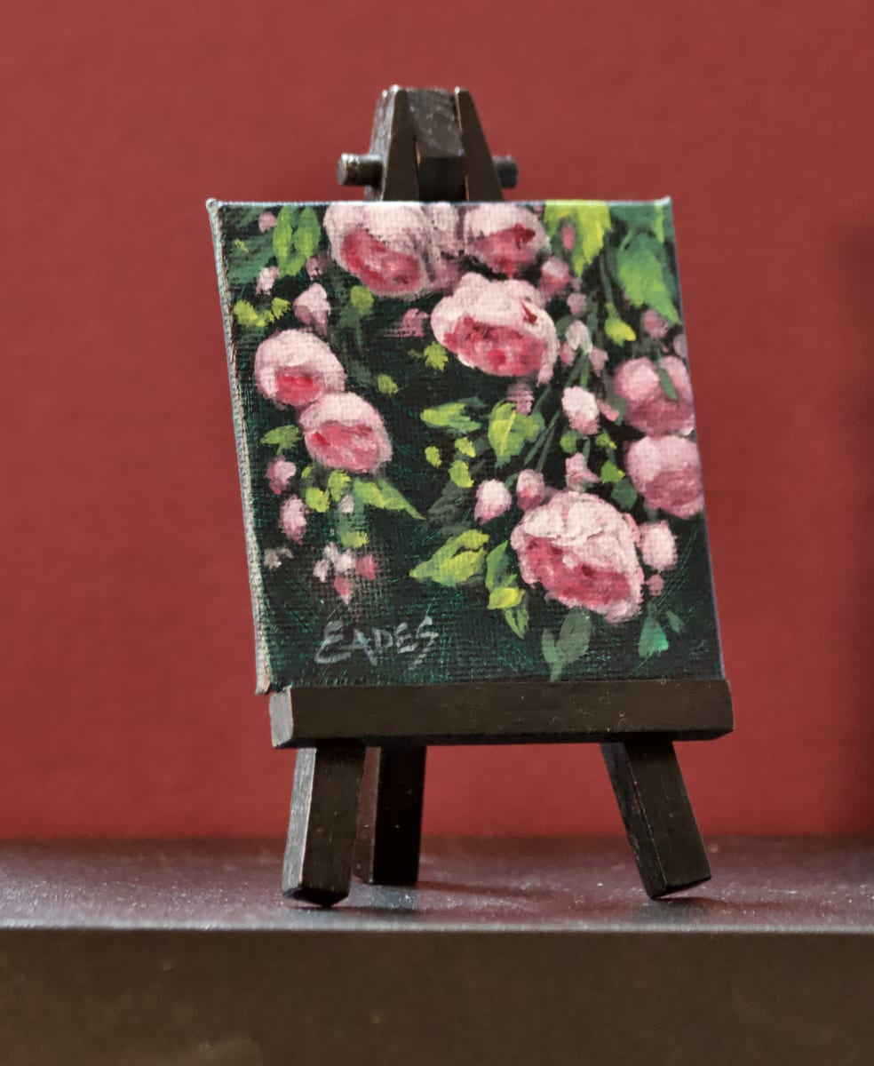Bea's Roses Mini II by Linda Eades Blackburn