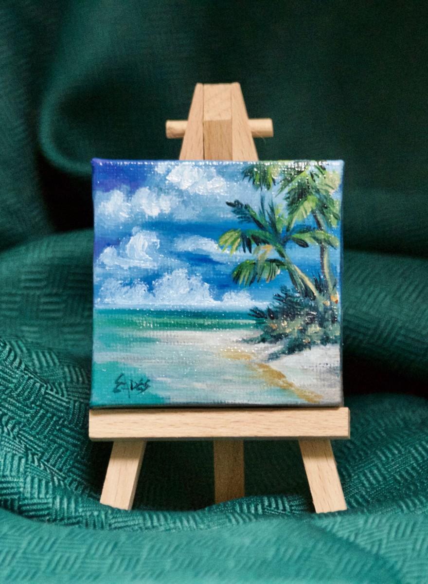 Beach by Linda Eades Blackburn