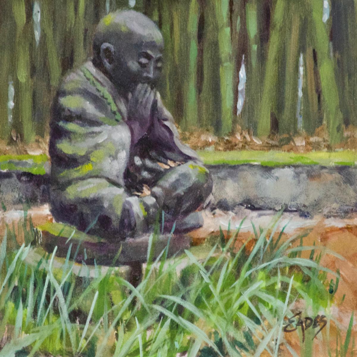 Buddah and Bamboo by Linda Eades Blackburn