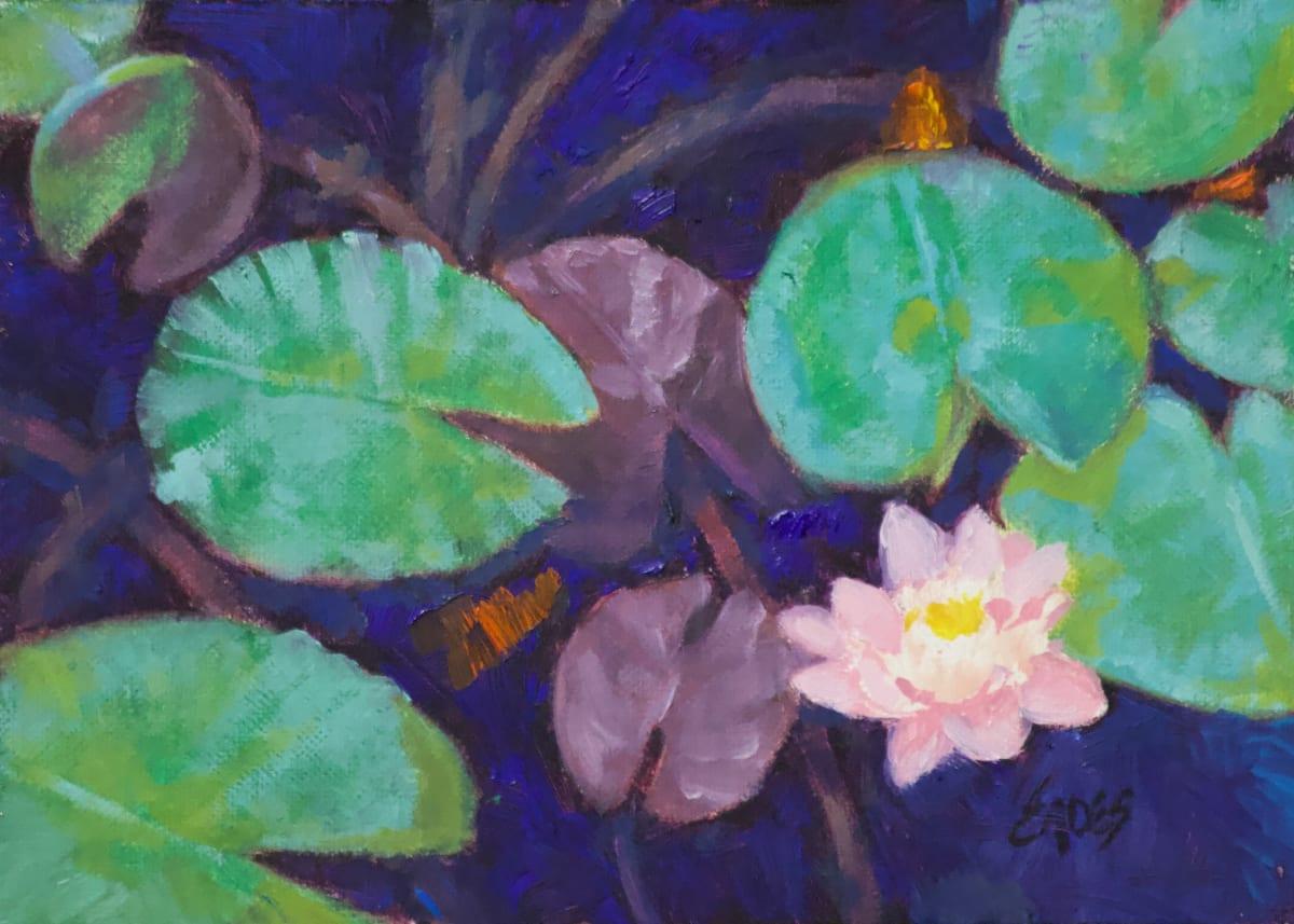 Busy Pond II by Linda Eades Blackburn