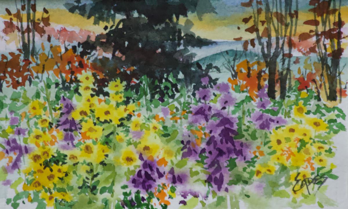 Color in the Hills by Linda Eades Blackburn