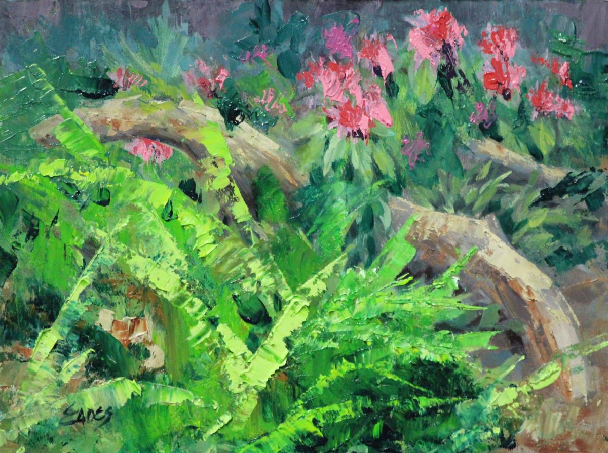Flamingo Plants by Linda Eades Blackburn