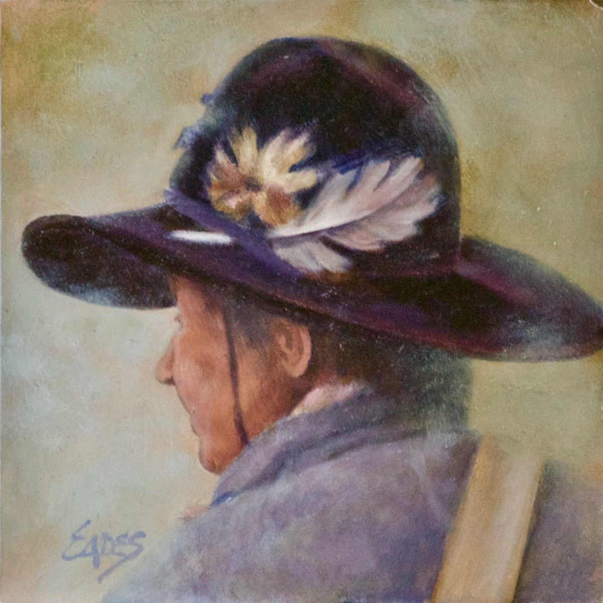 Hat Feathers by Linda Eades Blackburn