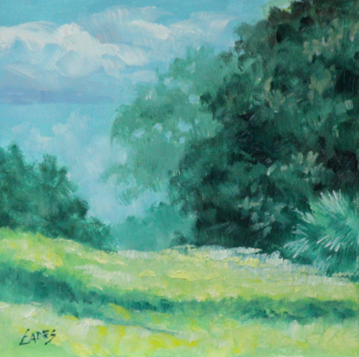 Rolling Hills by Linda Eades Blackburn
