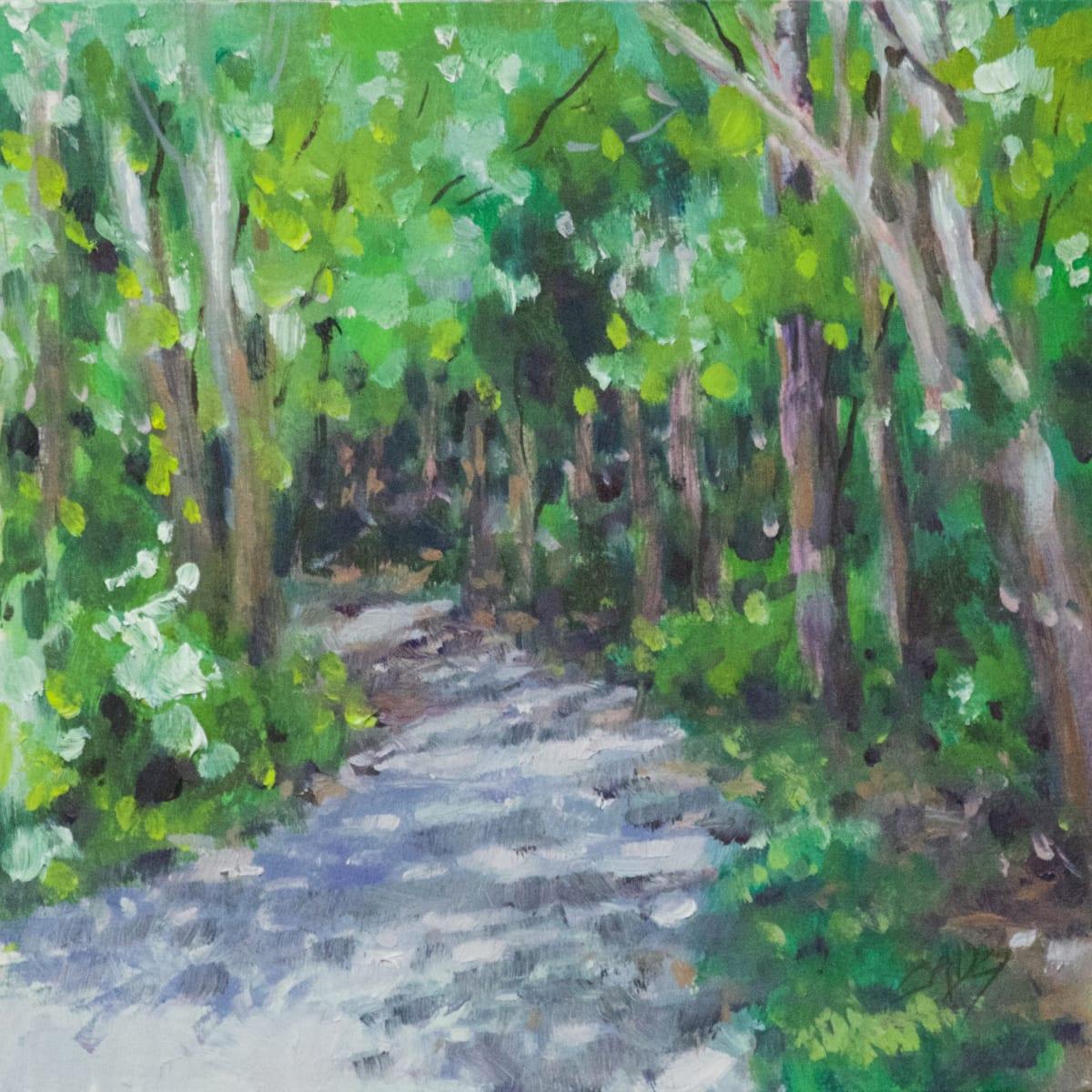 Shady Trail by Linda Eades Blackburn