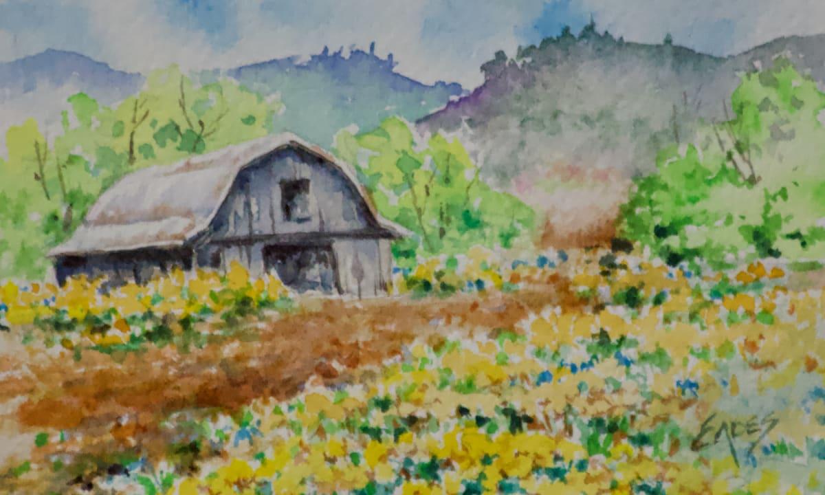 Spring Flowers on the Farm by Linda Eades Blackburn