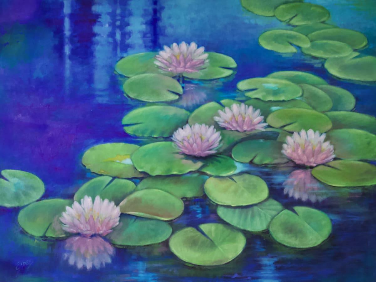 Water Garden by Linda Eades Blackburn