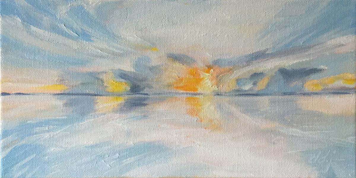 Glazing Sky by Daryl D. Johnson