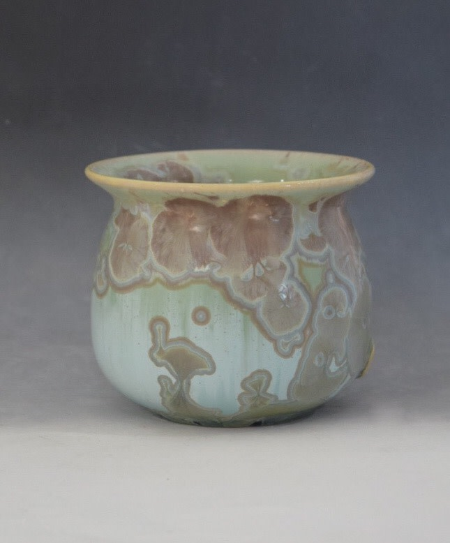 Green Matte Pot by Nichole Vikdal