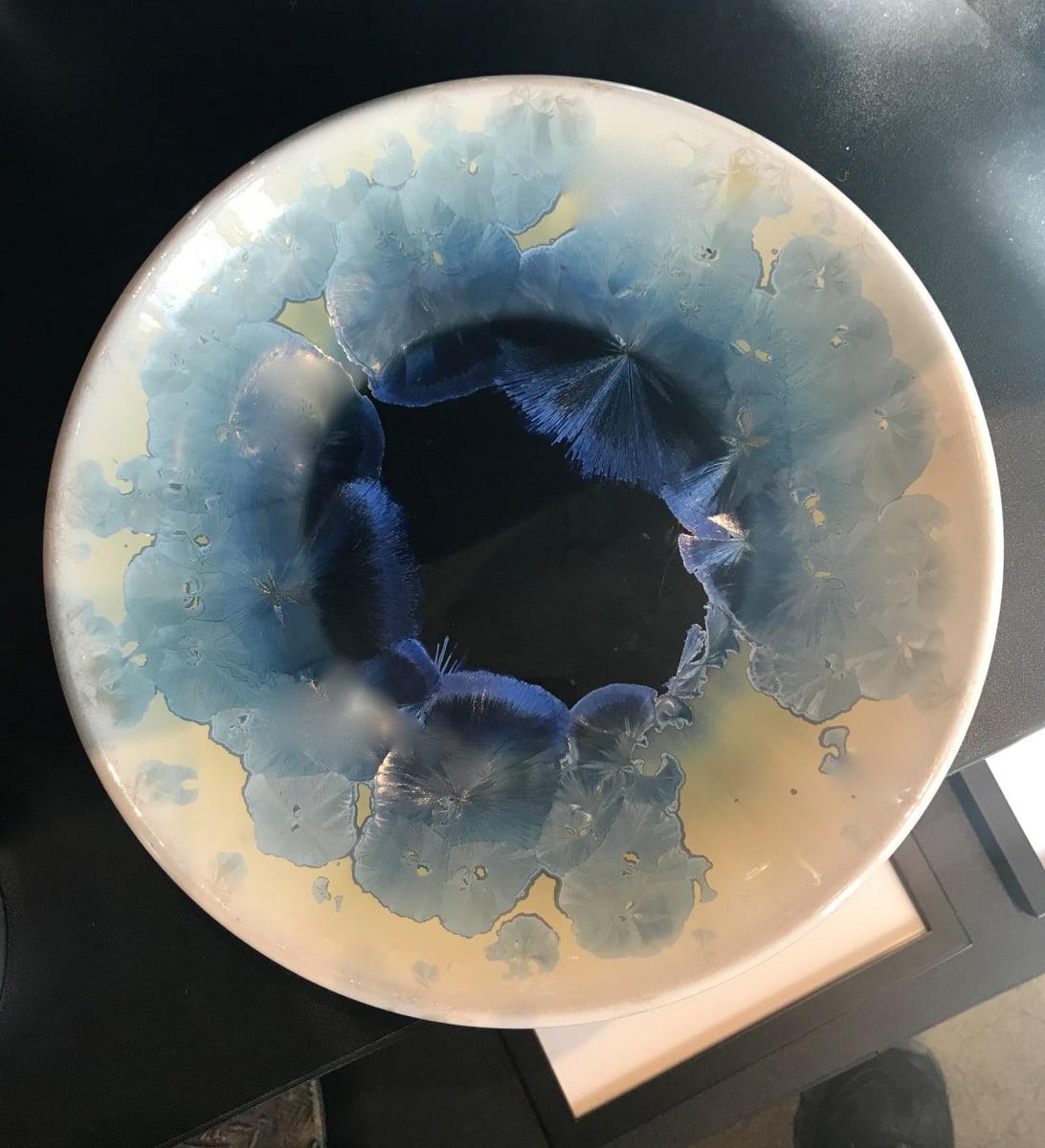 Turquoise w/yellow bowl by Nichole Vikdal