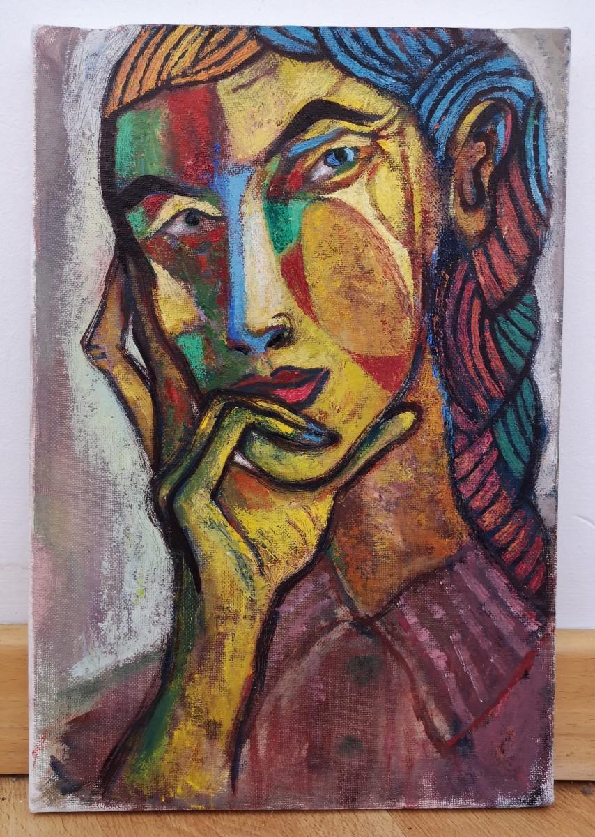 Pensive by John F. Marok