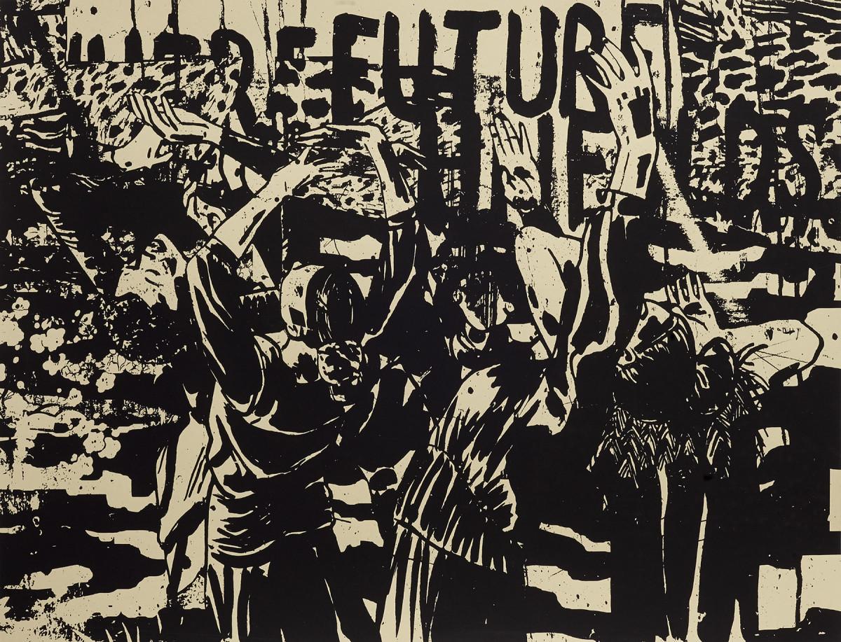 Where Future Unfolds by Damon Locks