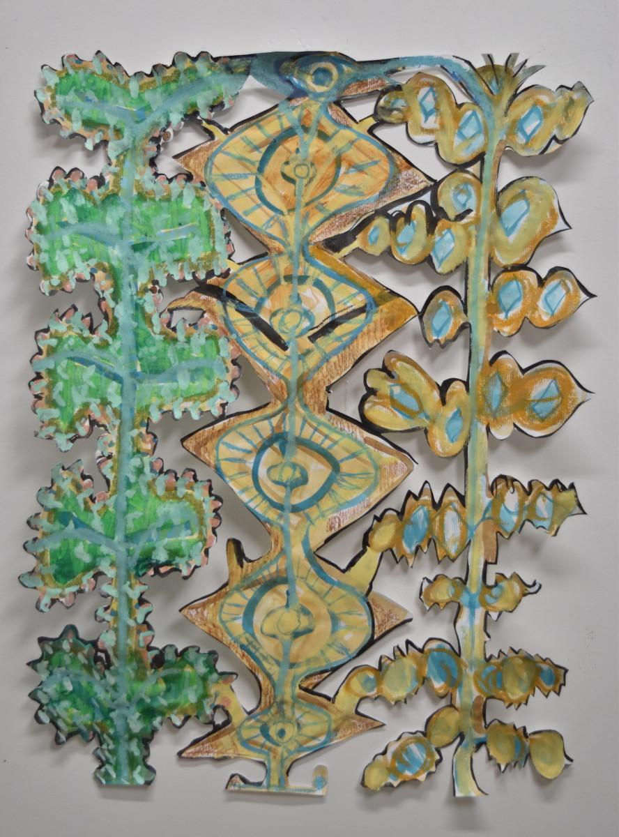 Plants Cut Out by Scott Wolniak