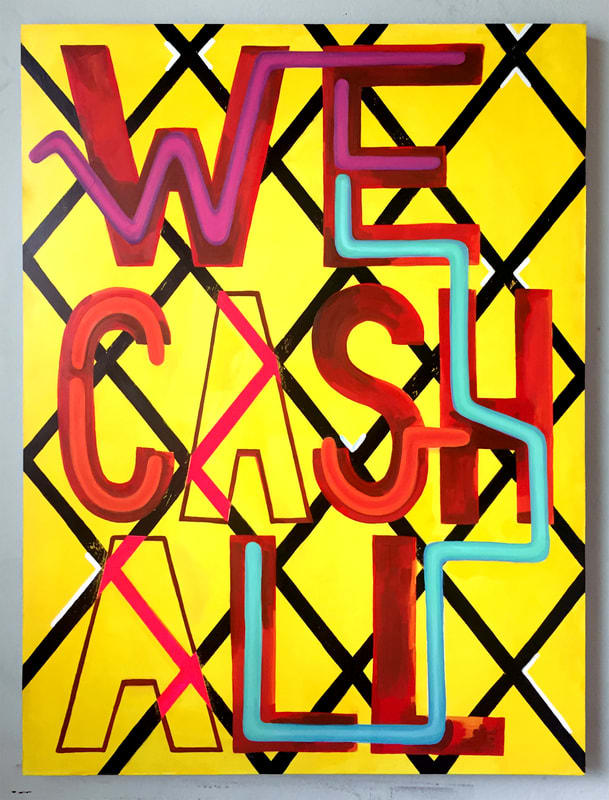 Untitled ( We Take All ) by Carris Adams