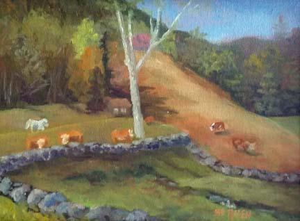 Bemis Hillside by Sharon Allen