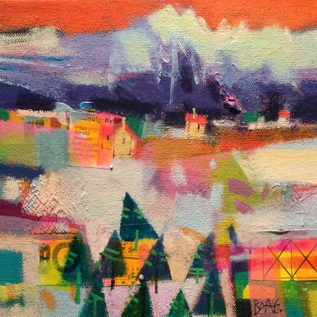 Winter Cuillins by francis boag