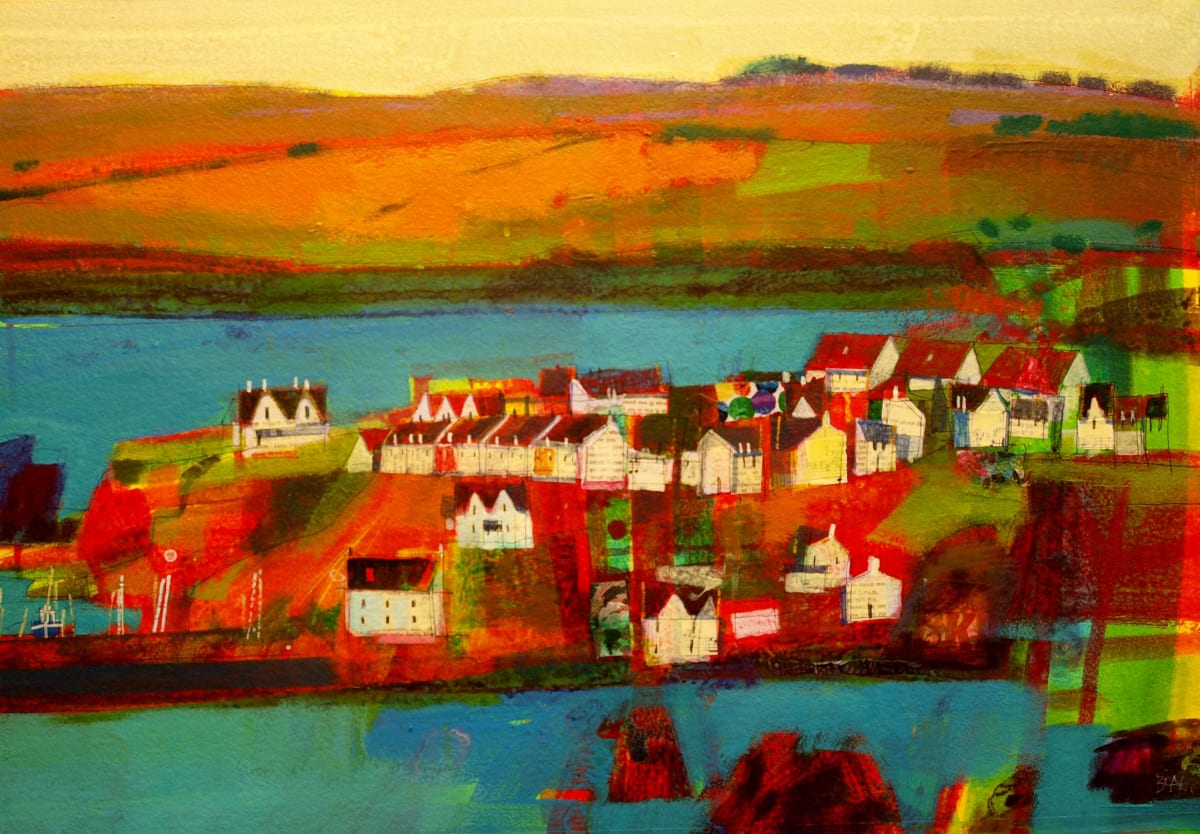 St Abbs view by francis boag