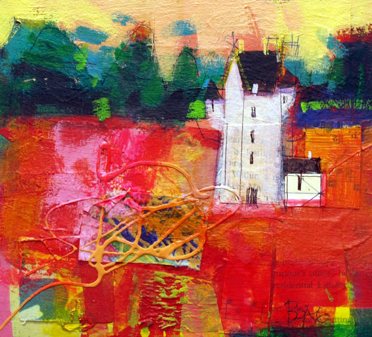 Forter Castle reds by francis boag