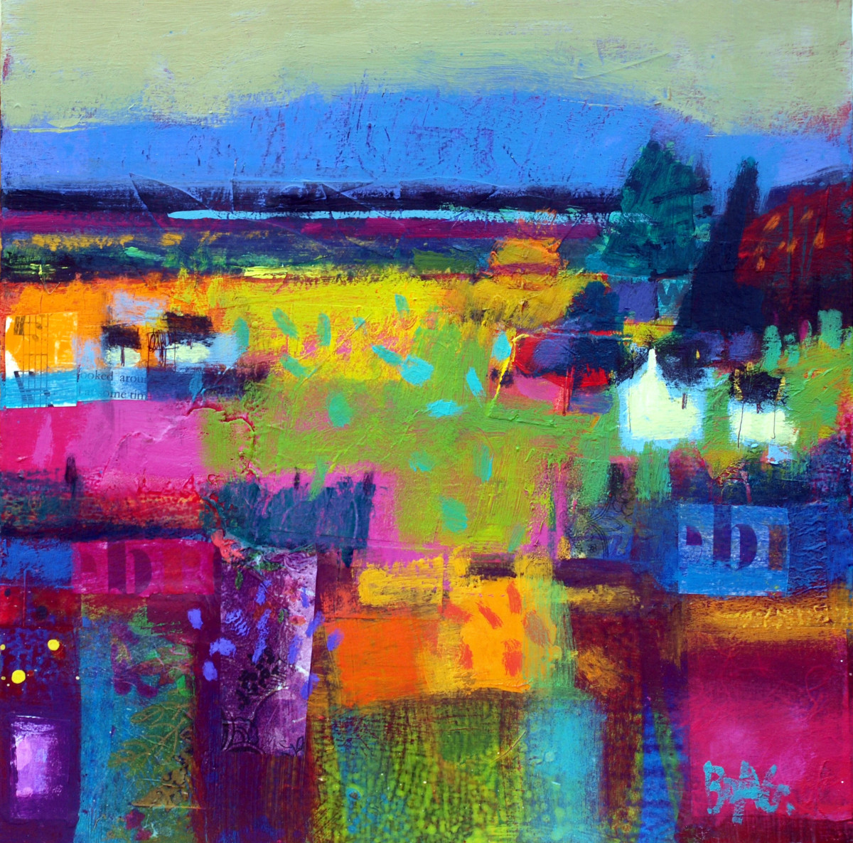Angus hills Summer by francis boag