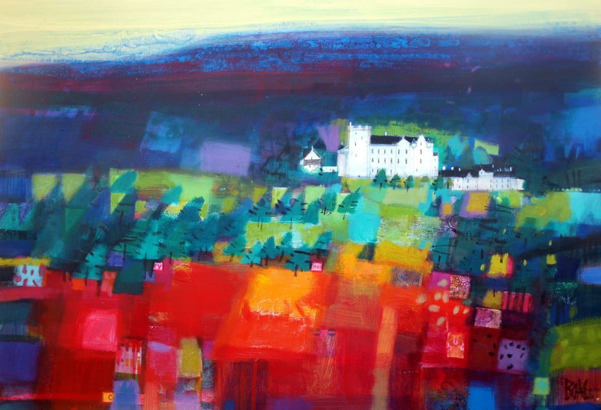Blair Castle, Blair Atholl by francis boag