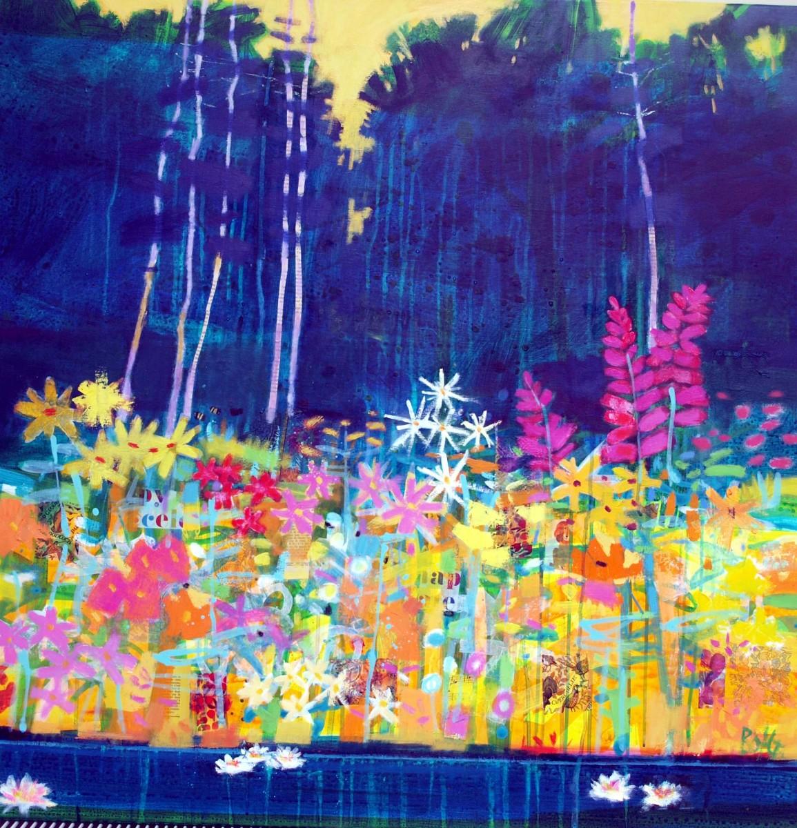 Summer pond 2 by francis boag
