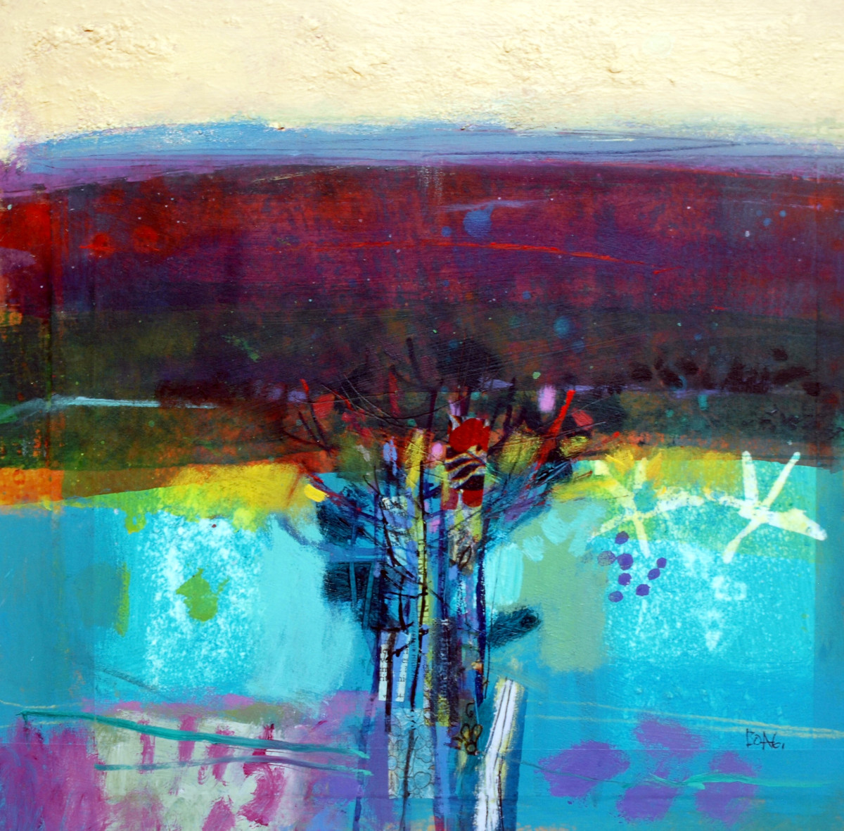 Hedgerow by francis boag