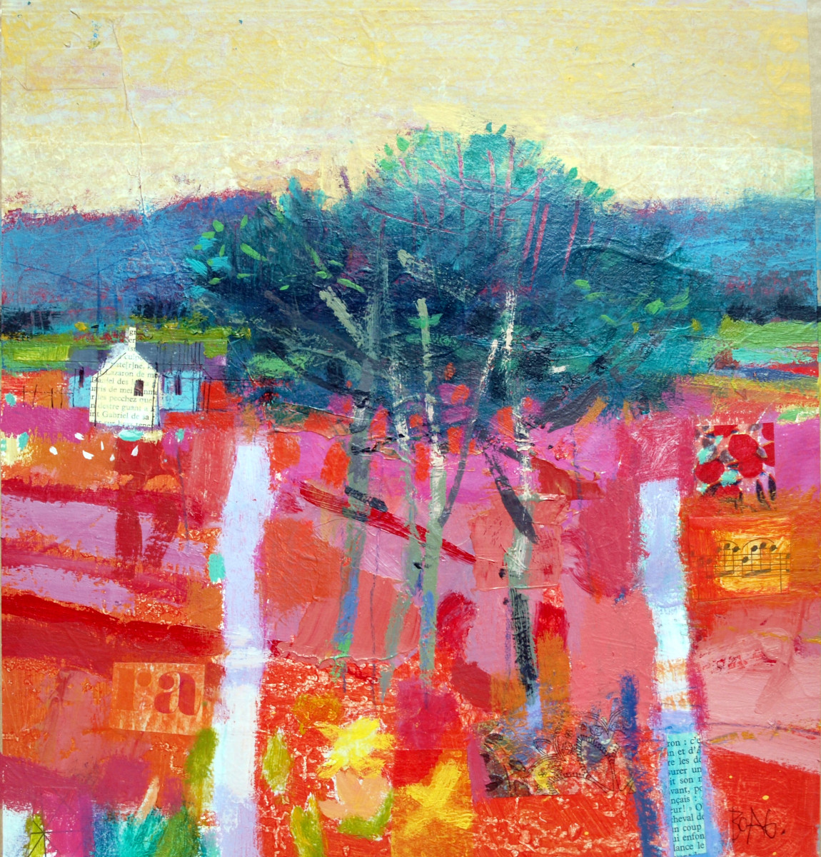 Cookney Trees by francis boag