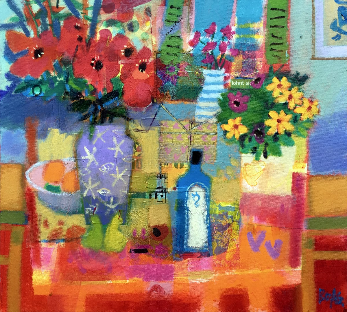 Summer Table by francis boag