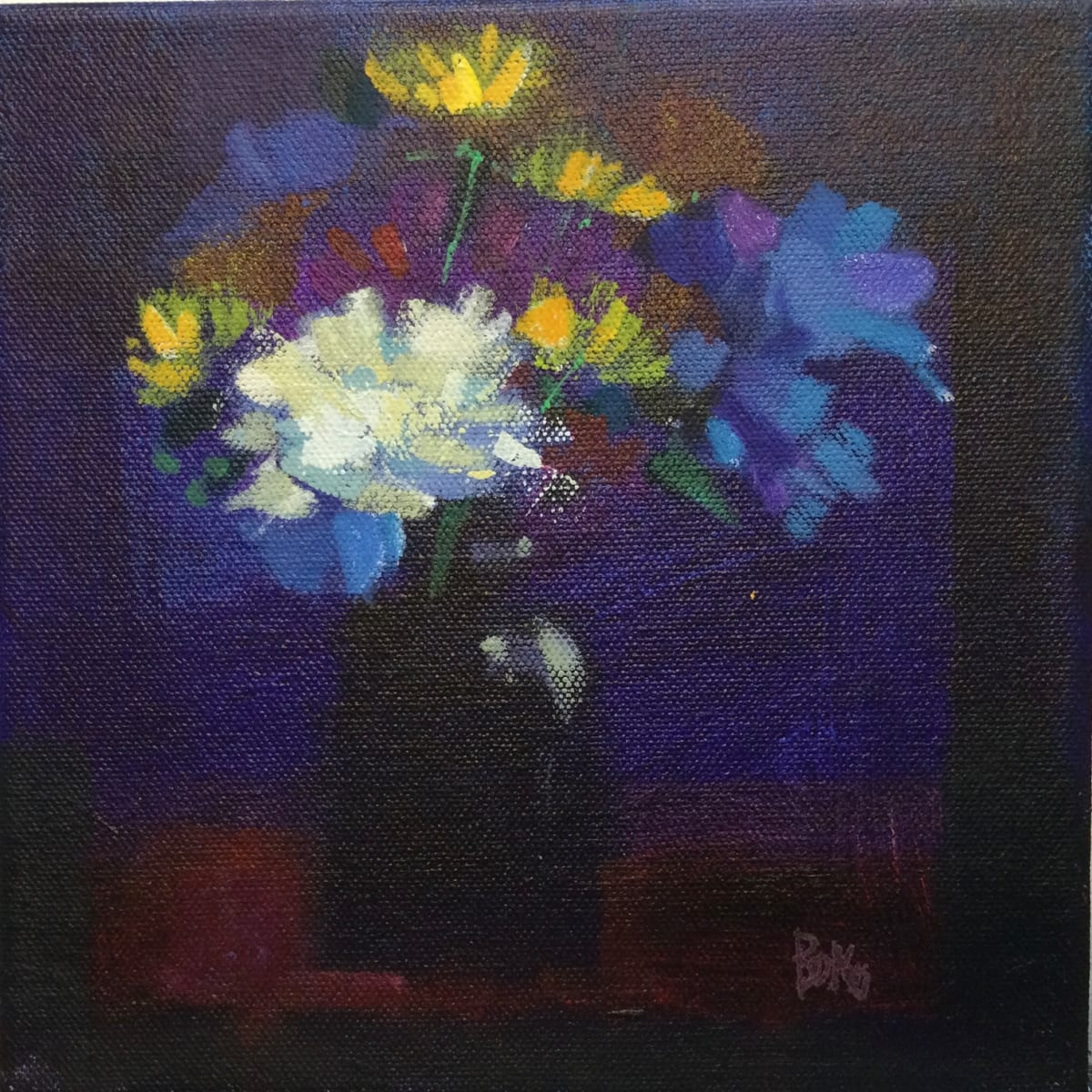 Evening blooms 1 by francis boag