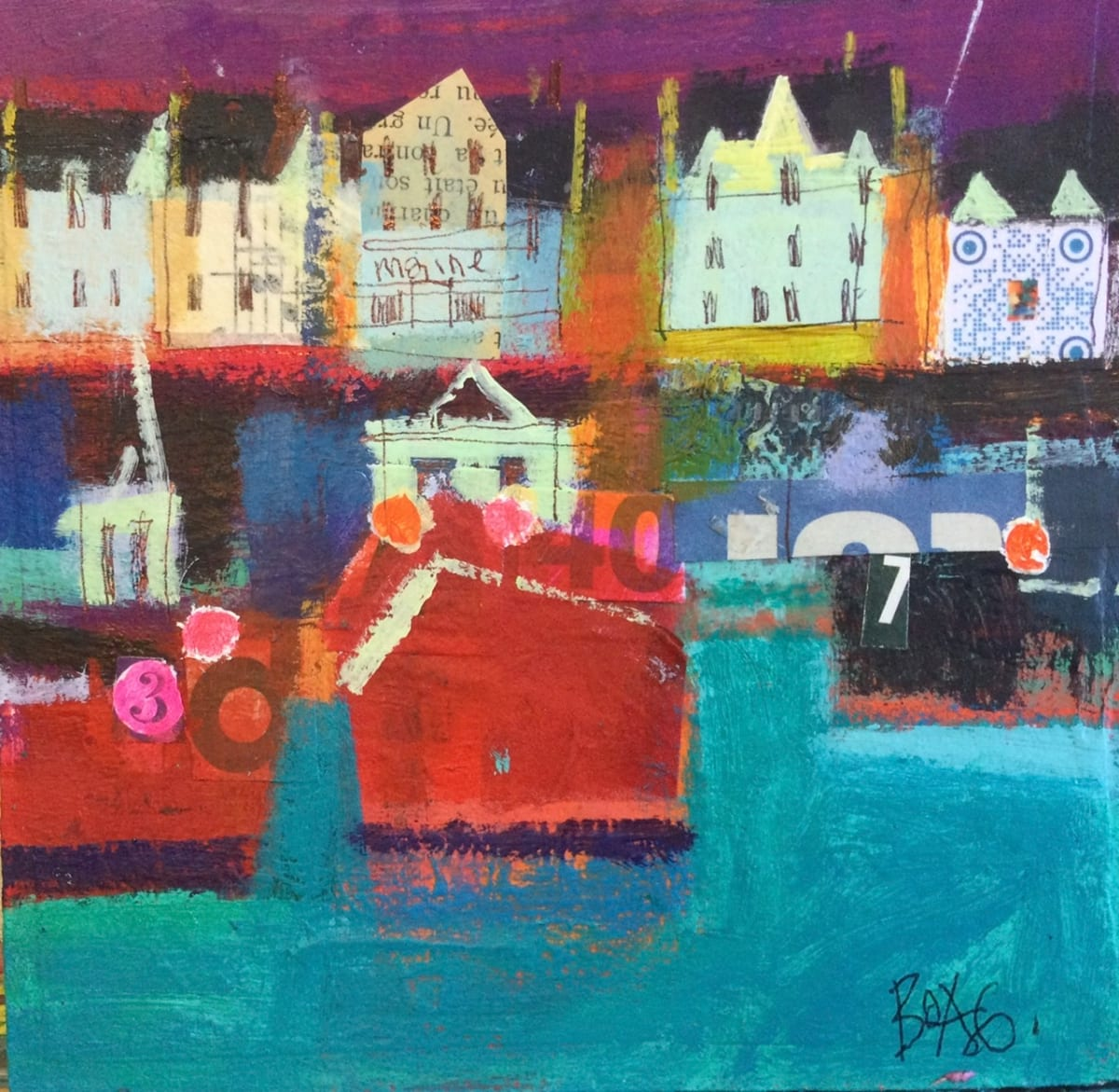 Stonehaven Harbour 2 by francis boag