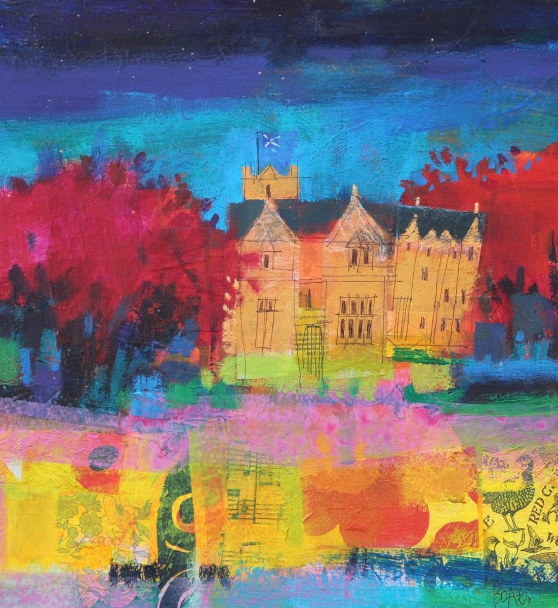 Ury House Autumn by francis boag