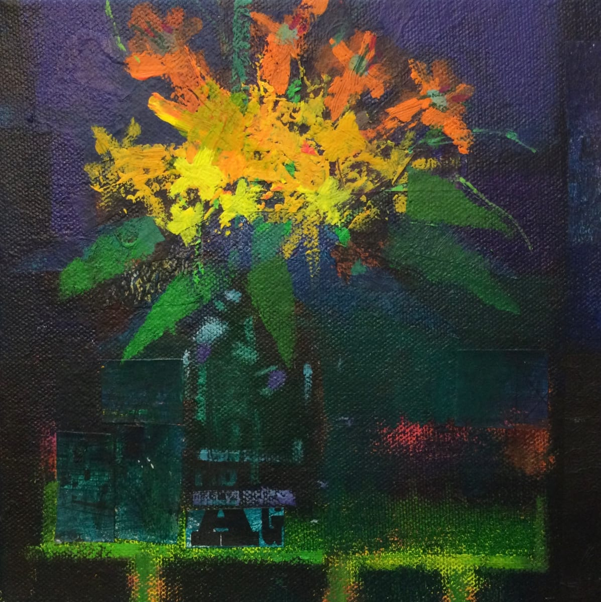 Evening blooms 2 by francis boag