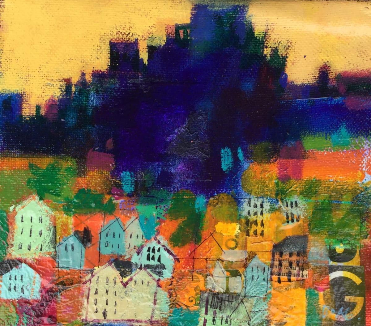 Edinburgh Castle, morning by francis boag
