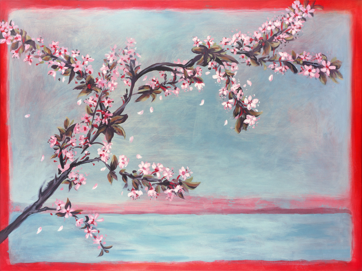Cherry Blossoms by Joanne Probyn