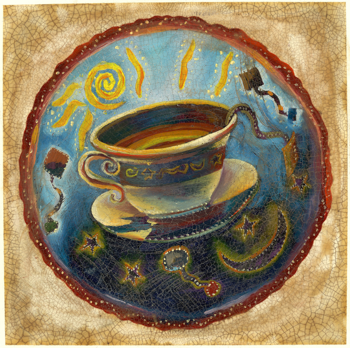 Tea (Open Edition) by Joanne Probyn