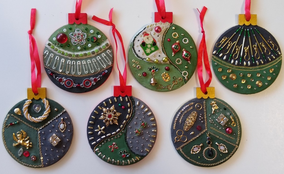 Holiday Ornaments (Set of 6)